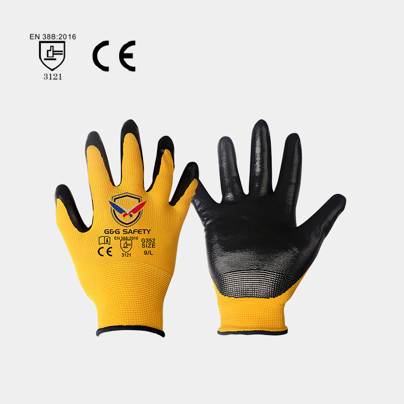 PU Coating Gloves Can Provide Good Slip Resistance