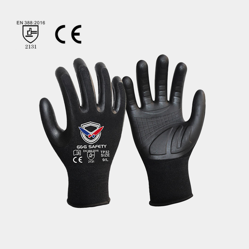 Application of PU Coating Gloves
