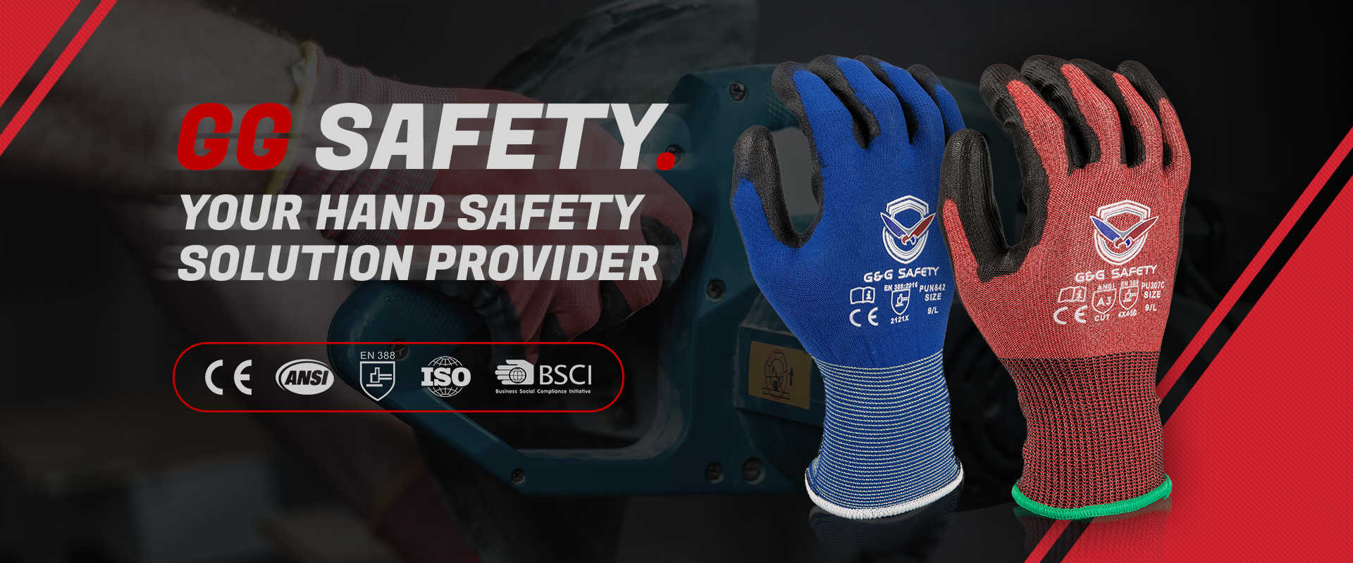 safety gloves factory